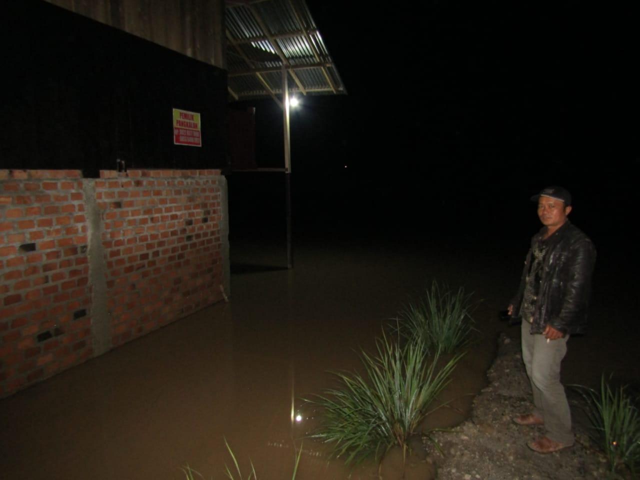 Sepekan, Luapan Sungai Way Semangka Lambar Tiga Kali Sebabkan Banjir