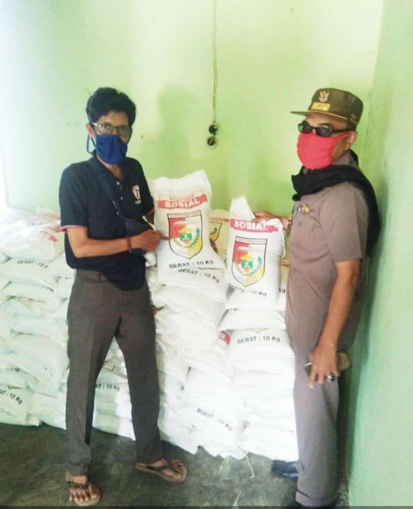 Dampak Covid-19, Pemkab Tubaba Distribusikan Beras Premium ke Sembilan Kecamatan