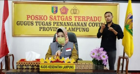 PDP Corona Lampung Meninggal Idap Penyakit Paru-paru Bronkopneumonia