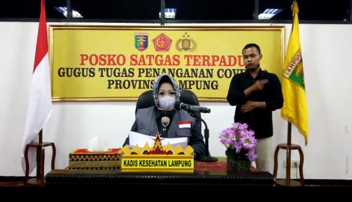 Empat Pasien Baru Positif Covid-19 di Lampung Orang Tanpa Gejala