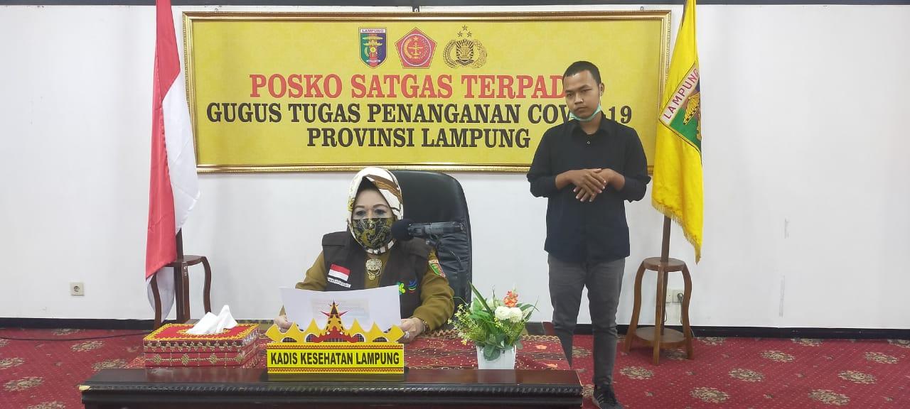 Tiga Pasien Baru Positif Covid-19 di Lampung OTG, Empat Sembuh