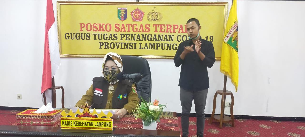 Pasien Baru Positif Covid-19 di Lampung OTG dari Lamteng