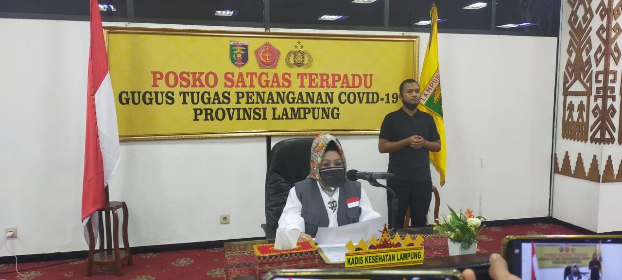 Pasien Positif Covid-19 Lampung Bertambah 12 Orang, Dua di Antaranya Balita