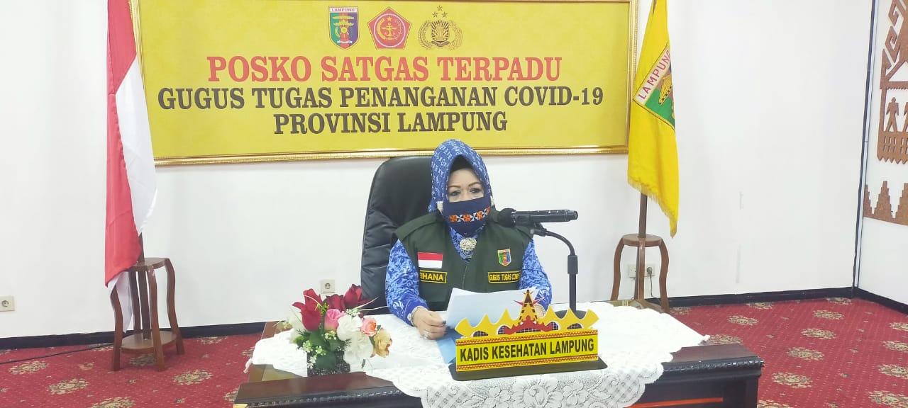 Dua Pasien Baru Positif Covid-19 OTG Warga Bandar Lampung, Isolasi Mandiri di Rumah
