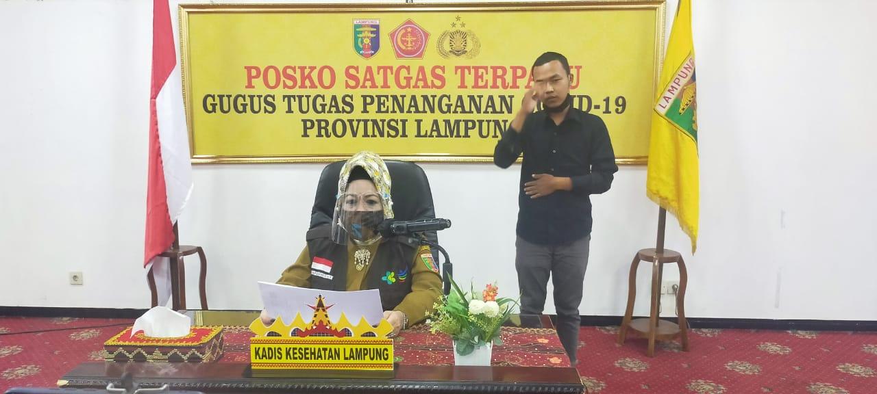 Lagi, Warga Bandar Lampung Positif Covid-19 Orang Tanpa Gejala