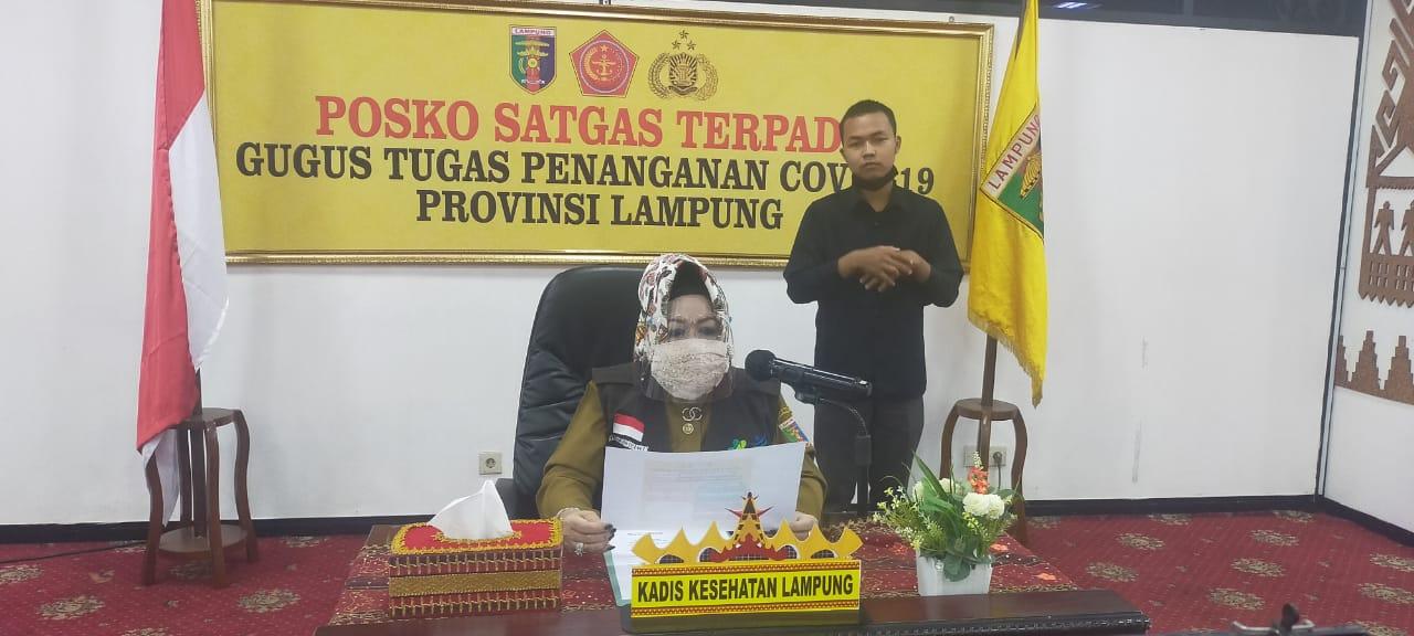Tujuh Pasien Baru Positif Covid-19 OTG Warga Bandar Lampung, Satu dari Lamteng