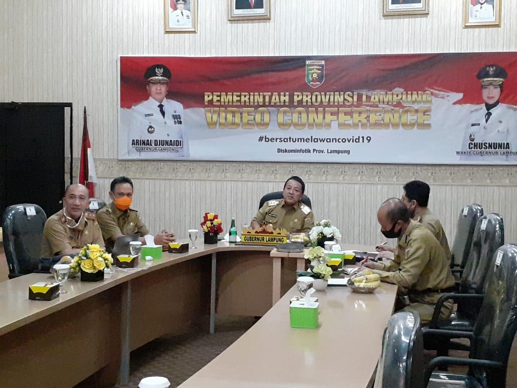 Gubernur Lampung Hadiri Rapat Pembahasan Progres Pembangunan Kawasan Industri dengan Kemenperin