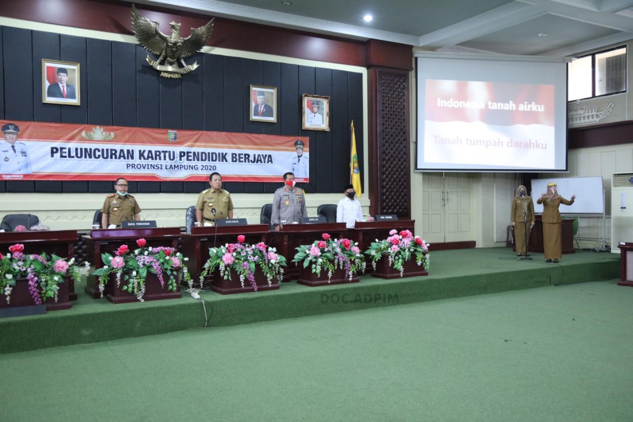 Bidik Kesejahteran Guru di Lampung, Gubernur LuncurkanKartu Pendidik Berjaya