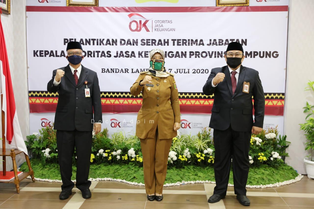 Pemprov Ajak OJK Bergandengan Tangan Wujudkan Rakyat Lampung Berjaya