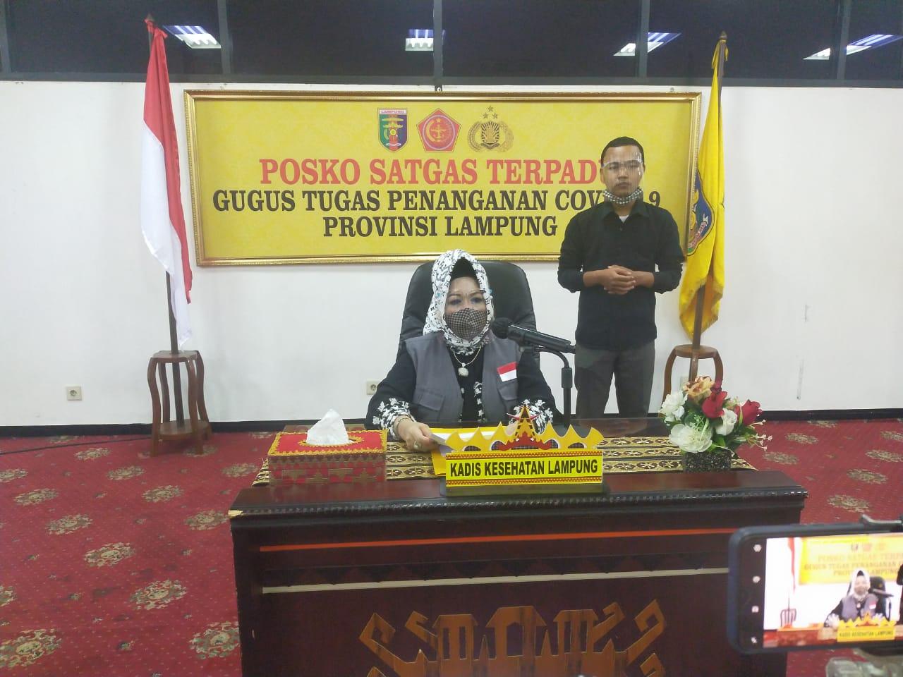 Hasil Swab Dua dari Tiga PDP Meninggal di Lampung Negatif Covid-19