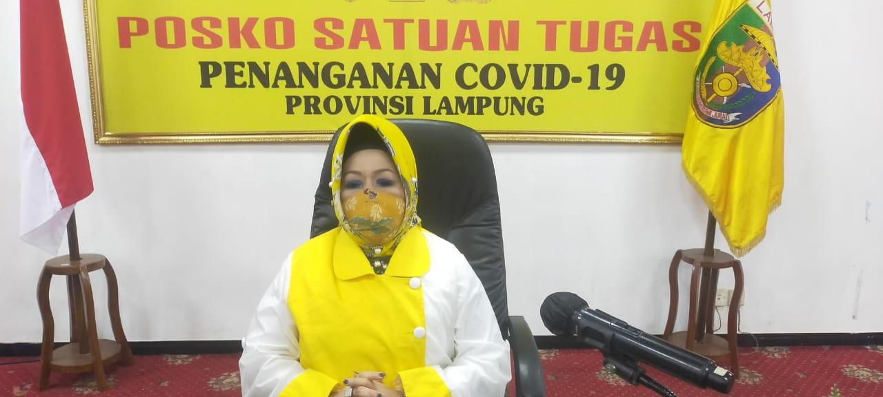 Pasien Kasus Baru Konfirmasi Positif Covid-19 Lampung Warga Sumsel