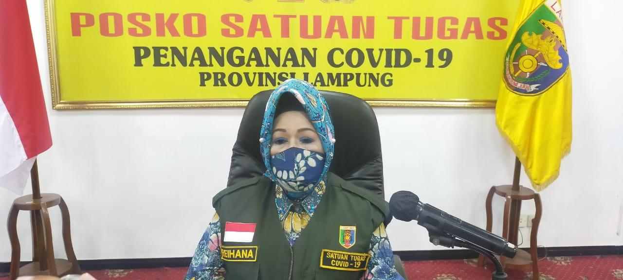 Pasien Baru Konfirmasi Positif Covid-19 Lampung Warga Lampura, Sembuh dari Lamsel