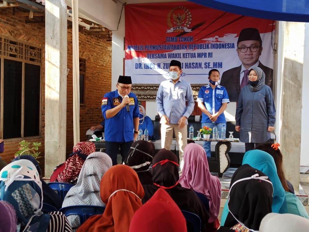 Wakil Ketua MPR Ajak Warga Natar Menangkan Hipni-Melin di Pilkada Lamsel