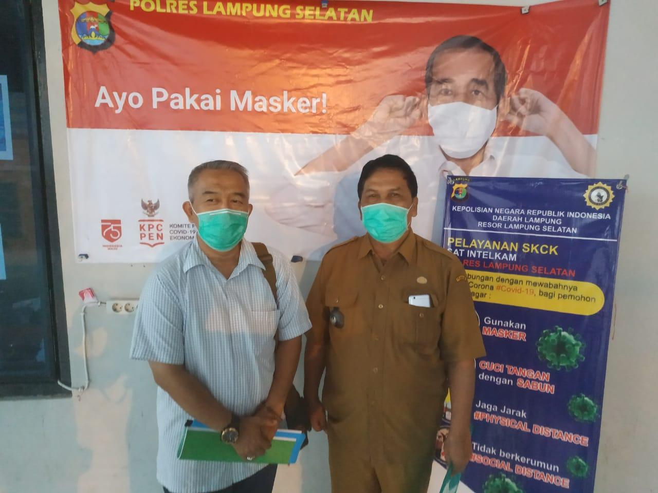 Polres Lampung Selatan Periksa Kades, Kasus Dugaan Pencemaran Nama Baik Bupati