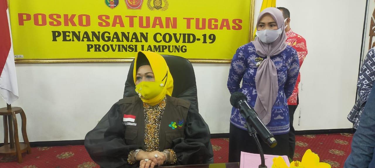 Pasien Konfirmasi Positif Covid-19 di Lampung Tembus 500 Orang, Ada yang Tertular dari Batam