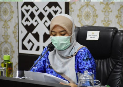 Kunjungan Kerja di Metro, Wagub Lampung Berharap tak ada Klaster Baru Covid-19