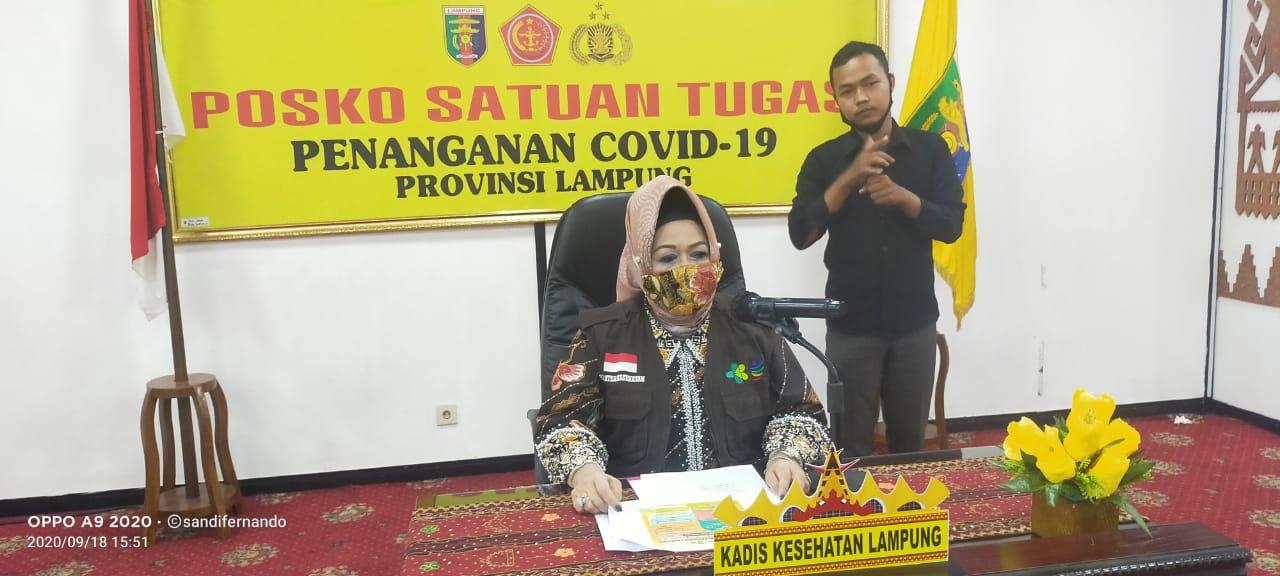 Pengidap Pneumonia di Lampung Meninggal Konfirmasi Positif Covid-19