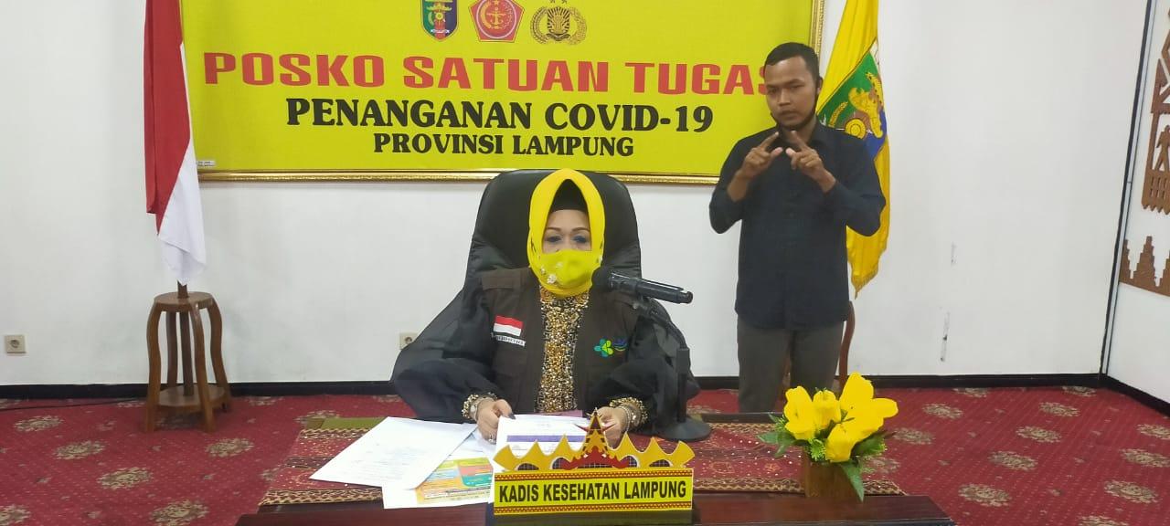 Pasien Baru Konfirmasi Positif Covid-19 di Lampung Riwayat dari Jakarta dan Kalimantan