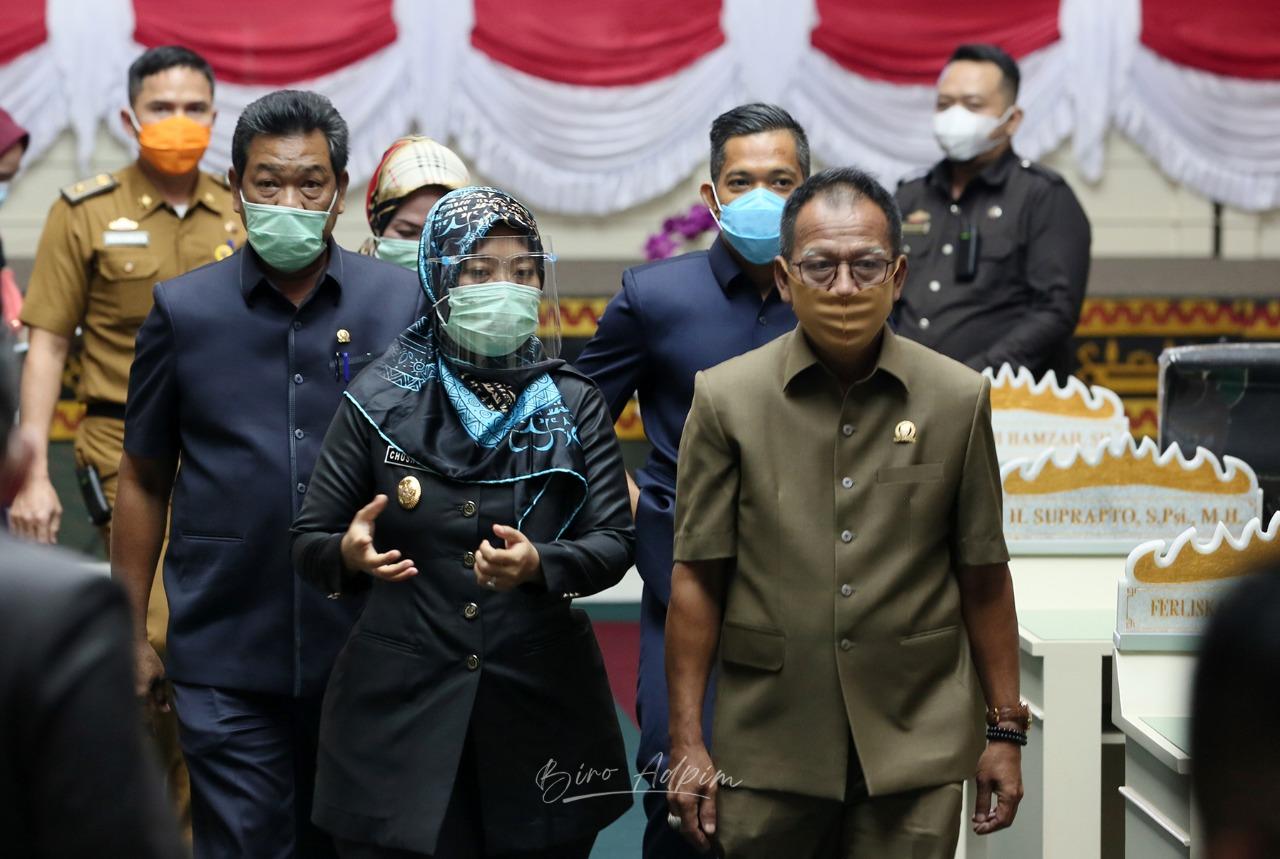 Pemprov Lampung Sampaikan 13 Upaya Peningkatan Penerimaan Daerah
