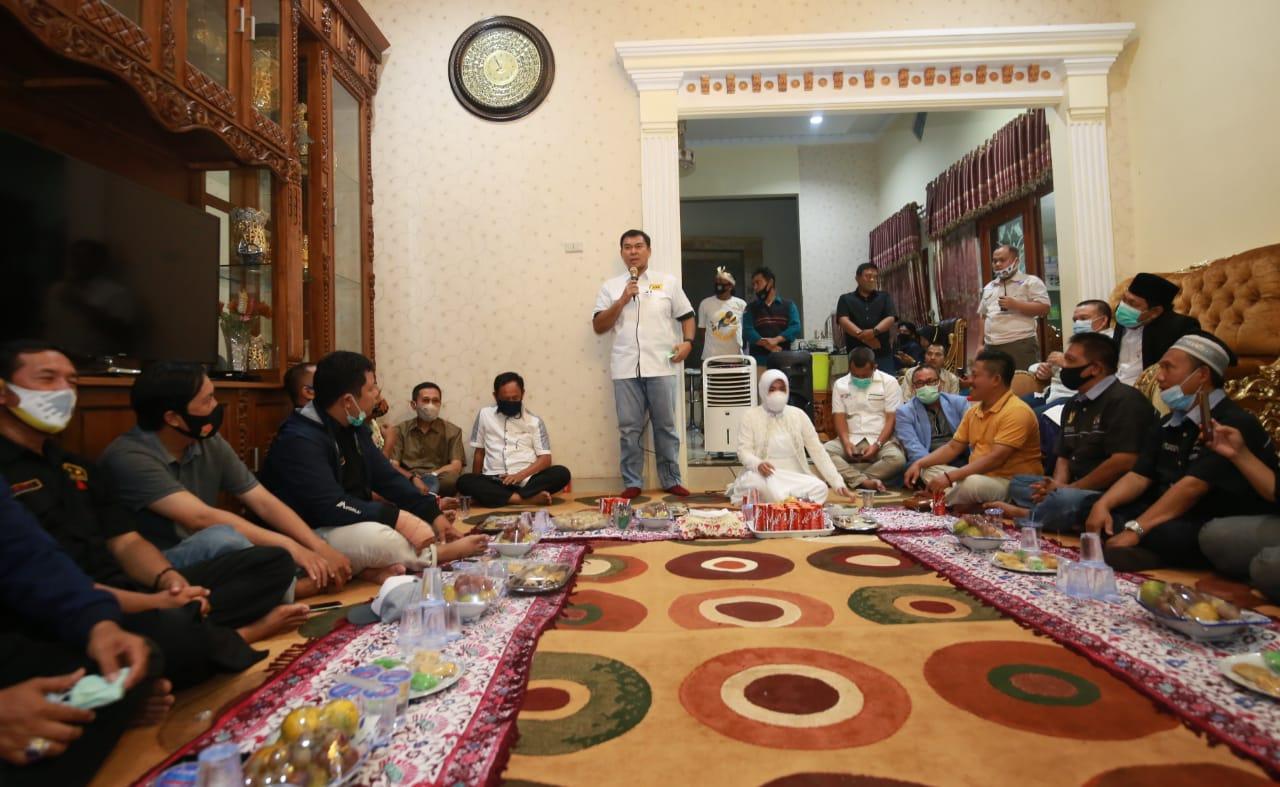 Pilwakot Bandar Lampung 2020: Barisan Rumah Juang Sepakat Dukung Rycko-Jos