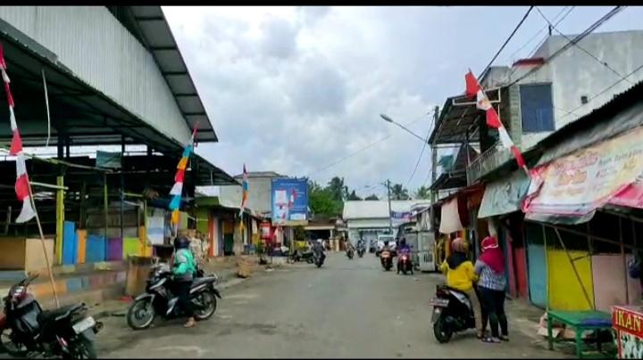 Pasar Kotaagung Dibuka Kembali, Masyarakat Diminta Patuhi Protokol Kesehatan