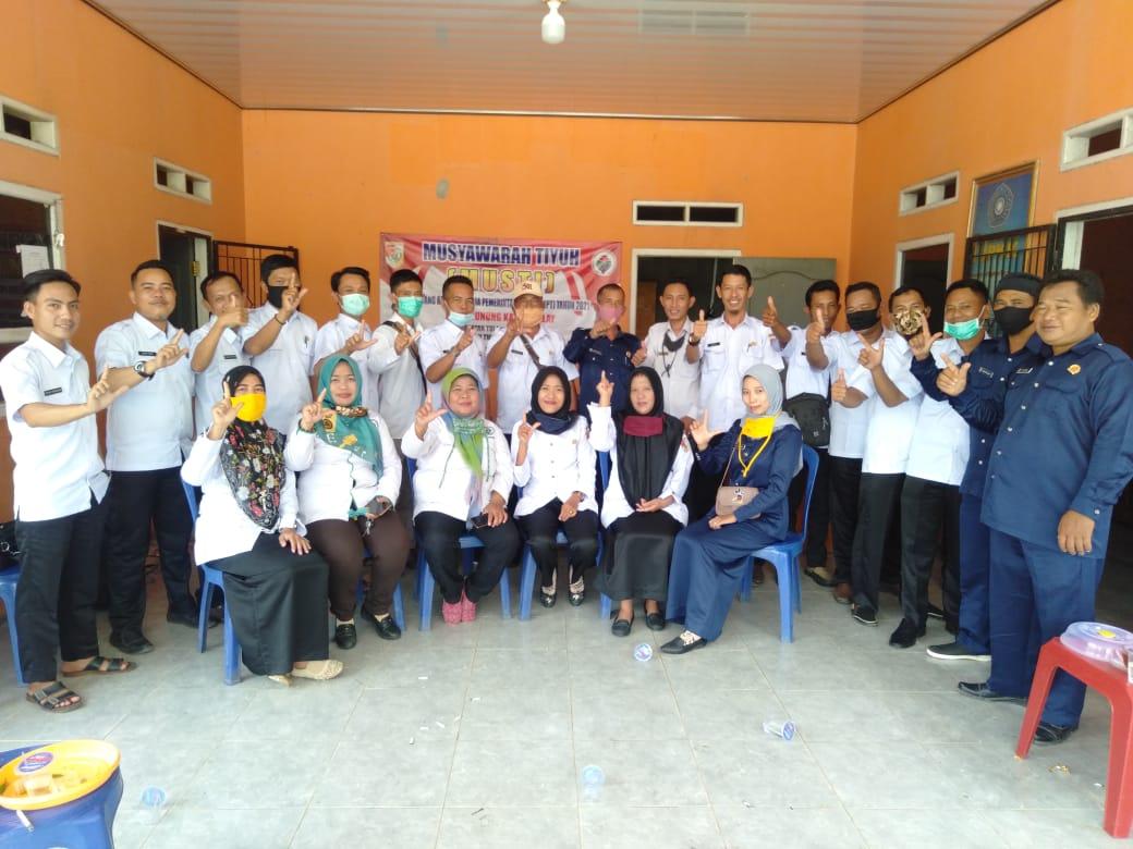 Pemerintah Tiyuh Gunung Katun Malay Tubaba Gelar Musyawarah Tiyuh