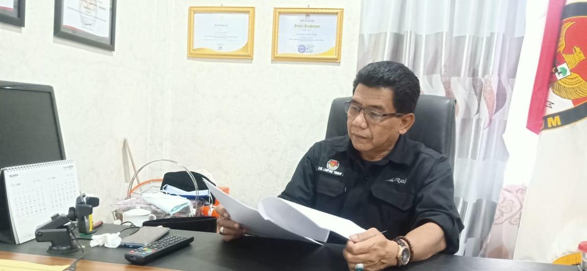 Ketua KPU Lamteng Tidak Tahu Anggaran APK Paslon