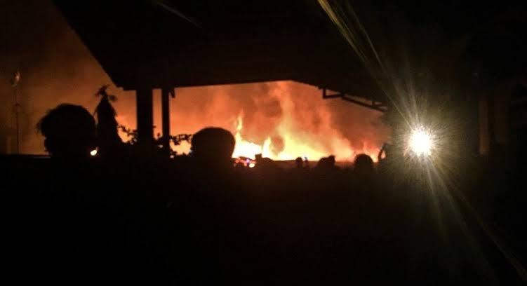 Rumah di Kotabaru Bandar Lampung Terbakar, Kerugian Rp 400 Juta