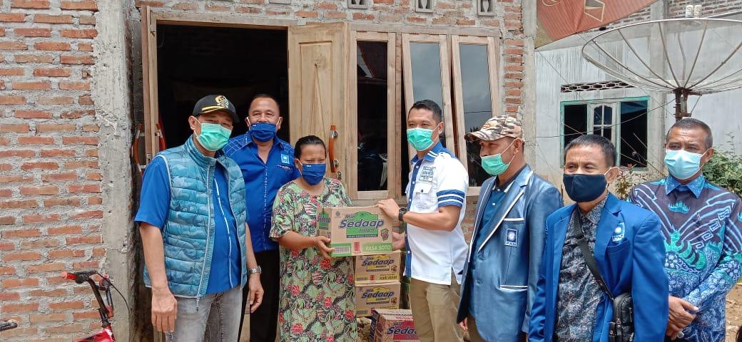 PAN Tanggamus Salurkan Bantuan Korban Banjir Semaka