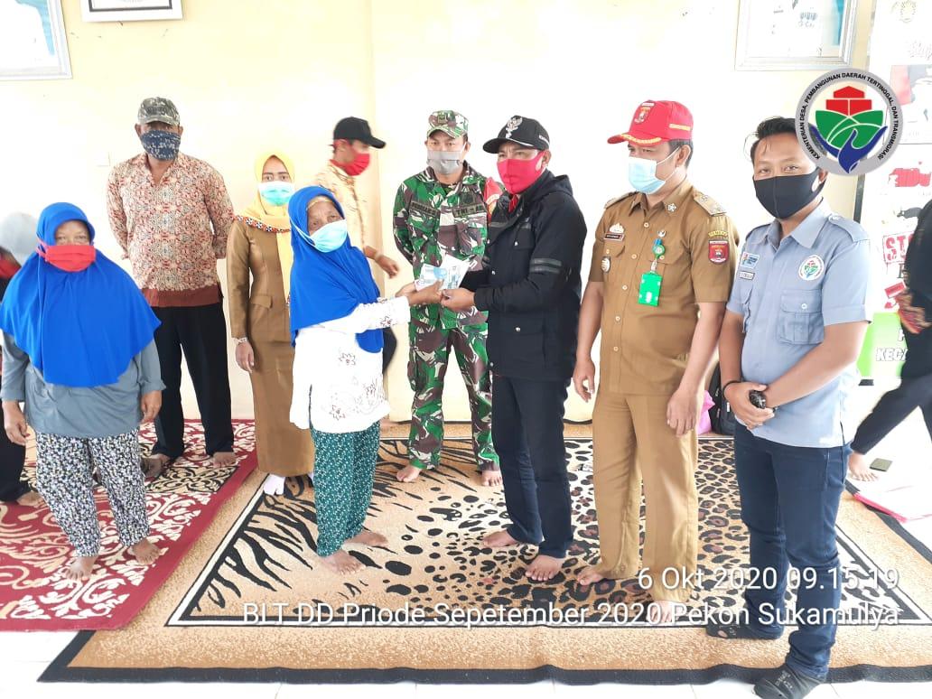 Tiga Anggota Naik Pangkat, Koramil 422-06 Sumberjaya Lampung Barat Santuni Anak Yatim Piatu