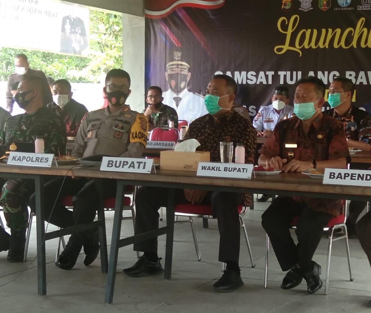 Samsat Penuh dan Satplas Polres Tubaba Resmi Di-launching