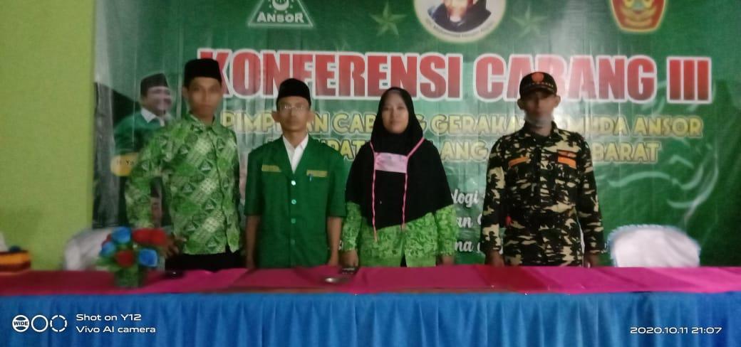 Sutikno Terpilih Jadi Ketua PC GP Ansor Tubaba