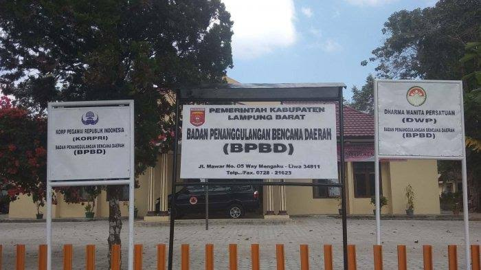 Masuki Musim Hujan, BPBD Lampung Barat Imbau Warga Selalu Waspada