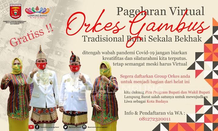 Pagelaran Orkes Gambus Tradisional Virtual di Lampung Barat Usai, Delapan Grup Raih Tropi