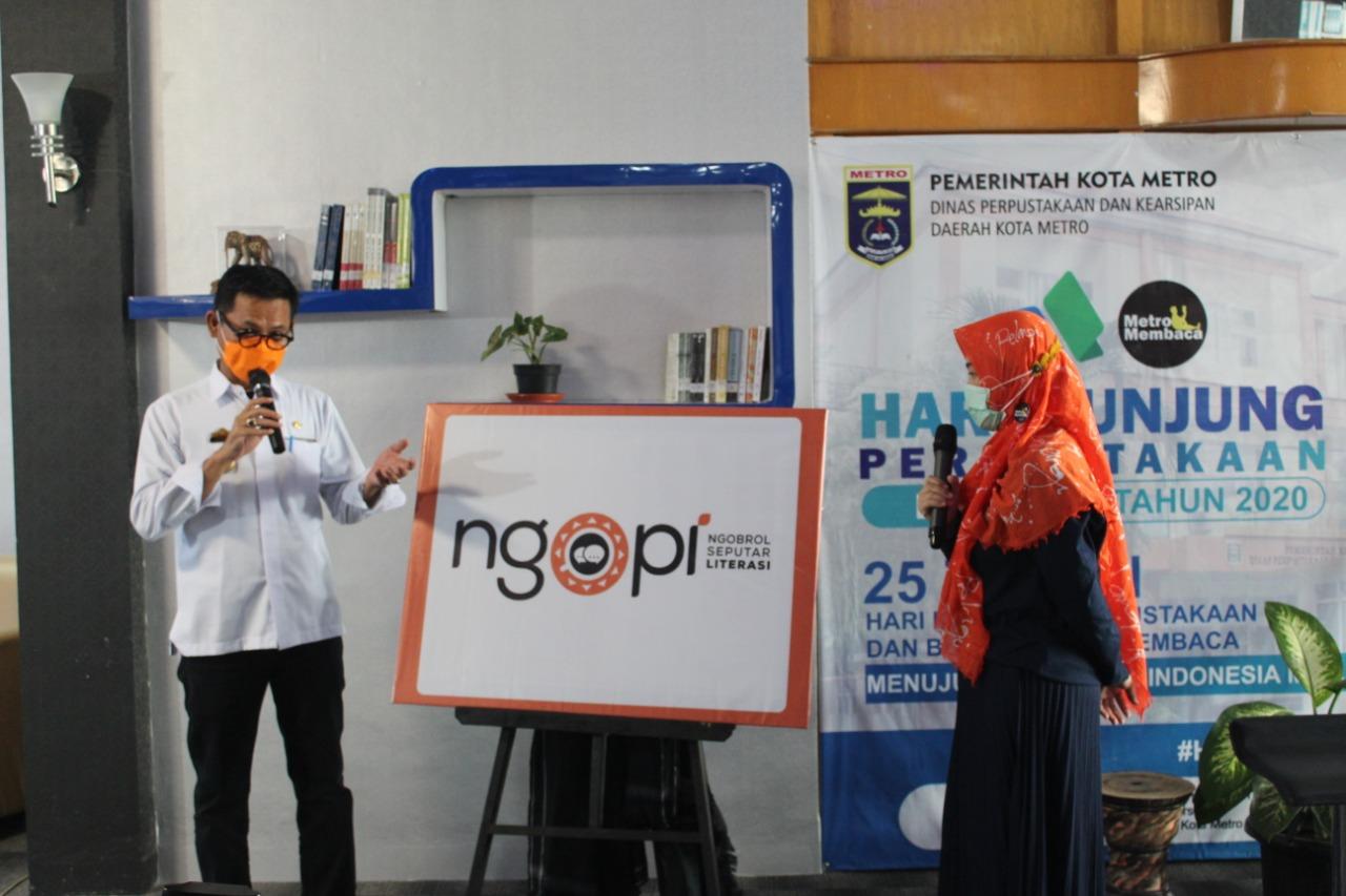 Dispusarda Kota Metro Launching Program NGOPI