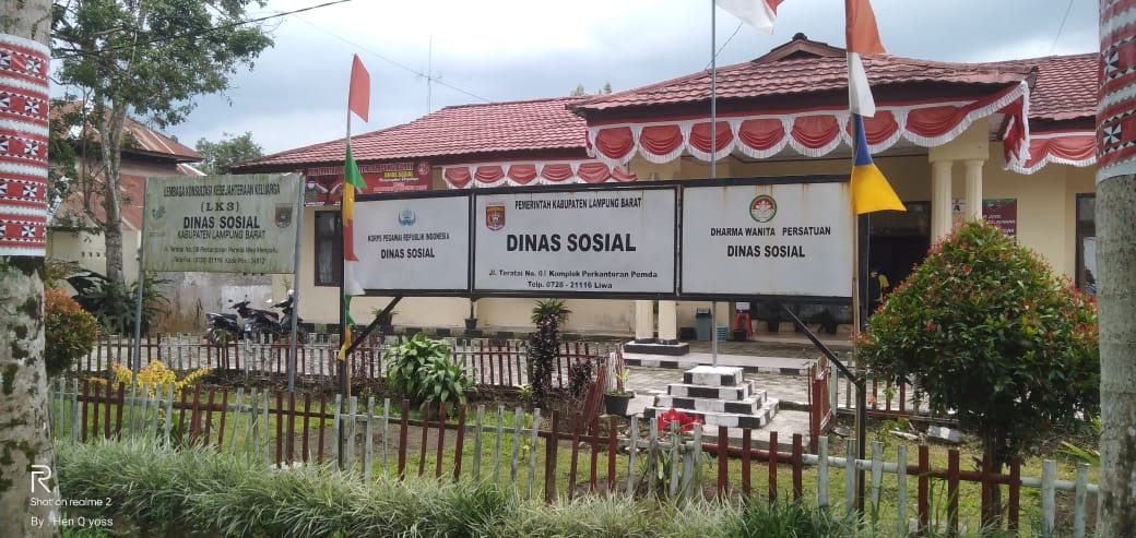 Dinas Sosial Lampung Barat Optimalkan Pengawasan Penyaluran 764 Ton BSB ke 16.988 PKH