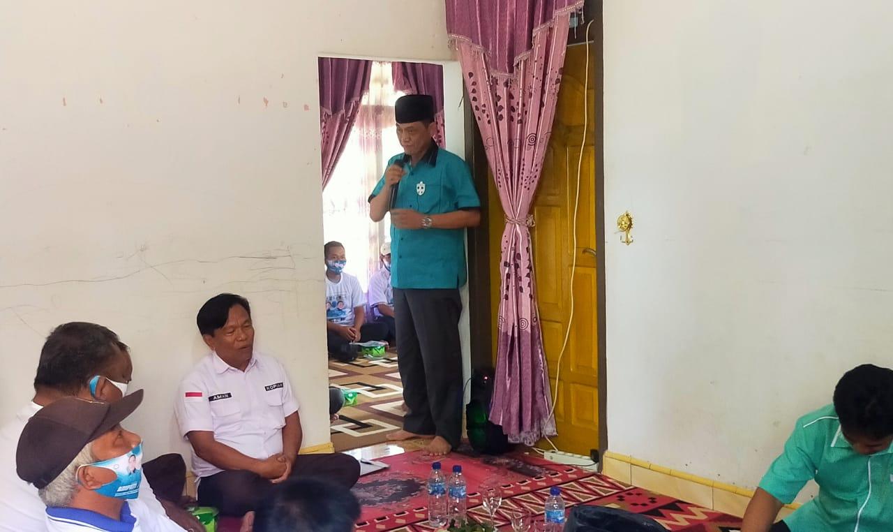 Kampanye di Way Tuba, Cawabup Way Kanan Ali Rahman Kukuhkan Ratusan Tim Pemenangan 'Berani Pasti Aman'