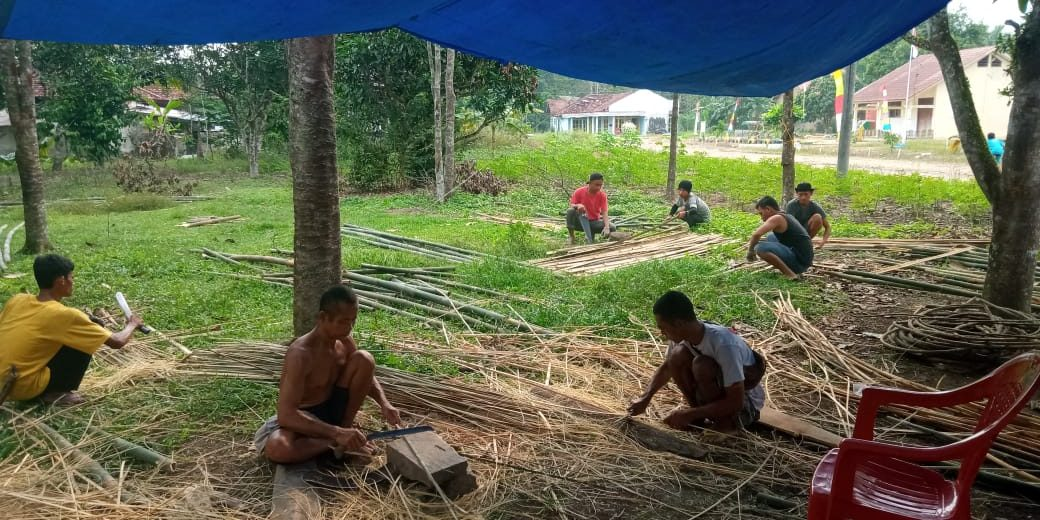 Festival Bambu Internasional Tubaba Tampilkan Pameran Etnografi dari Seluruh Sumatera