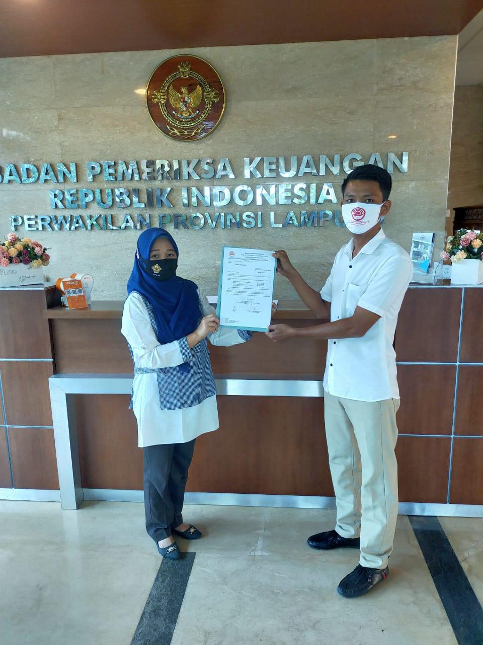 Minta Tindak Lanjut Temuan di OPD Pemkab Lampura, PGK Surati BPK Lampung