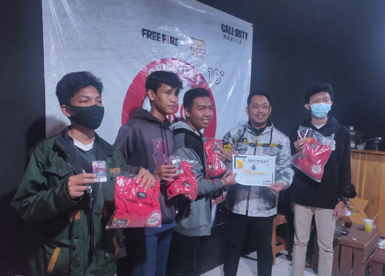 Pengurus Esport Lampung Utara Sukses Gelar Turnamen Game Online Season Pertama