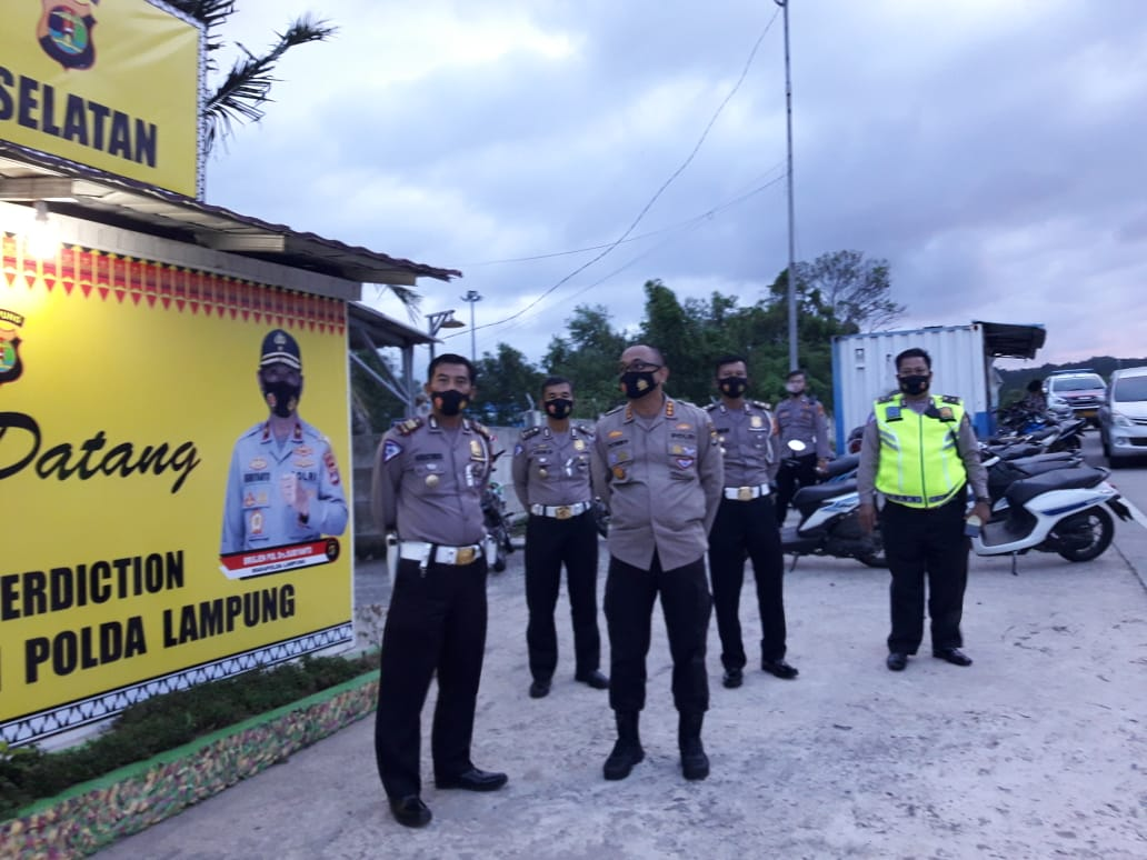 Persiapan Libur Panjang, Ditlantas Polda Lampung Periksa Pelabuhan Bakauheni dan Jalan Tol