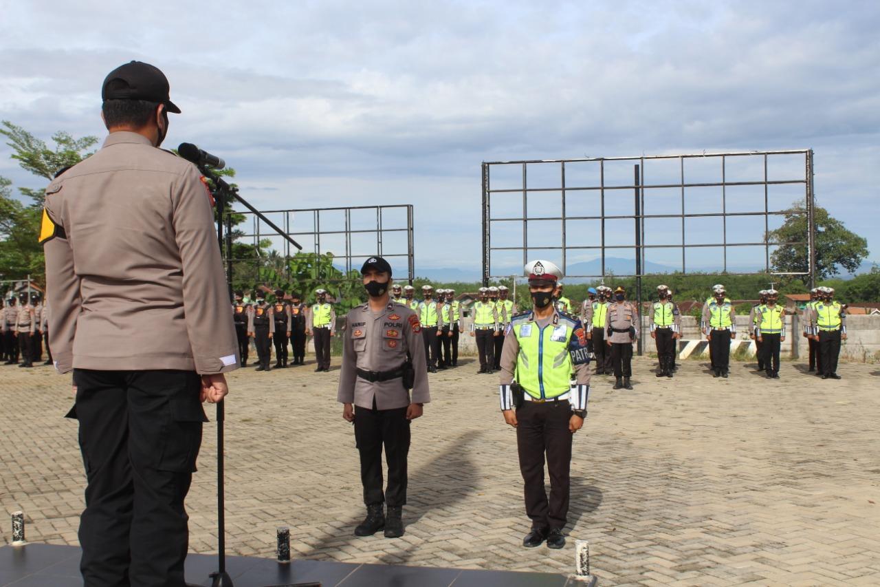 Wakapolres Pesawaran Perintahkan Proaktif Sosialisasi Protokol Kesehatan