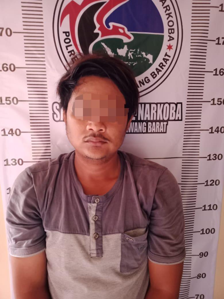 Petugas Satnarkoba Polres Tubaba Amankan Penyalah Guna Narkoba