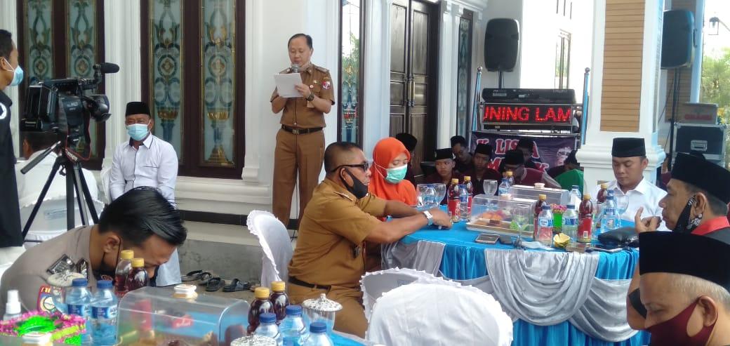 Plt Bupati Lampung Utara Hadiri Khitanan Massal DPC Lipan Bukit Kemuning