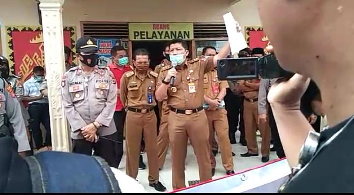 Polemik Program Sembako BPNT, PGK Lampung Utara Gelar Aksi