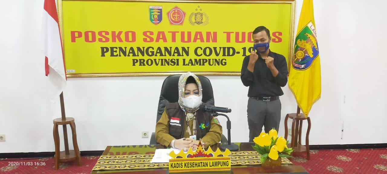 Makin Parah! Enam Pasien Covid-19 di Lampung Meninggal, Positif Bertambah 60 Orang