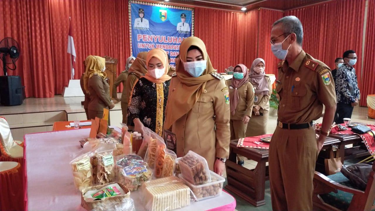 Bupati Tanggamus Buka Penyuluhan untuk Izin PIRT dan Sertifikat Halal
