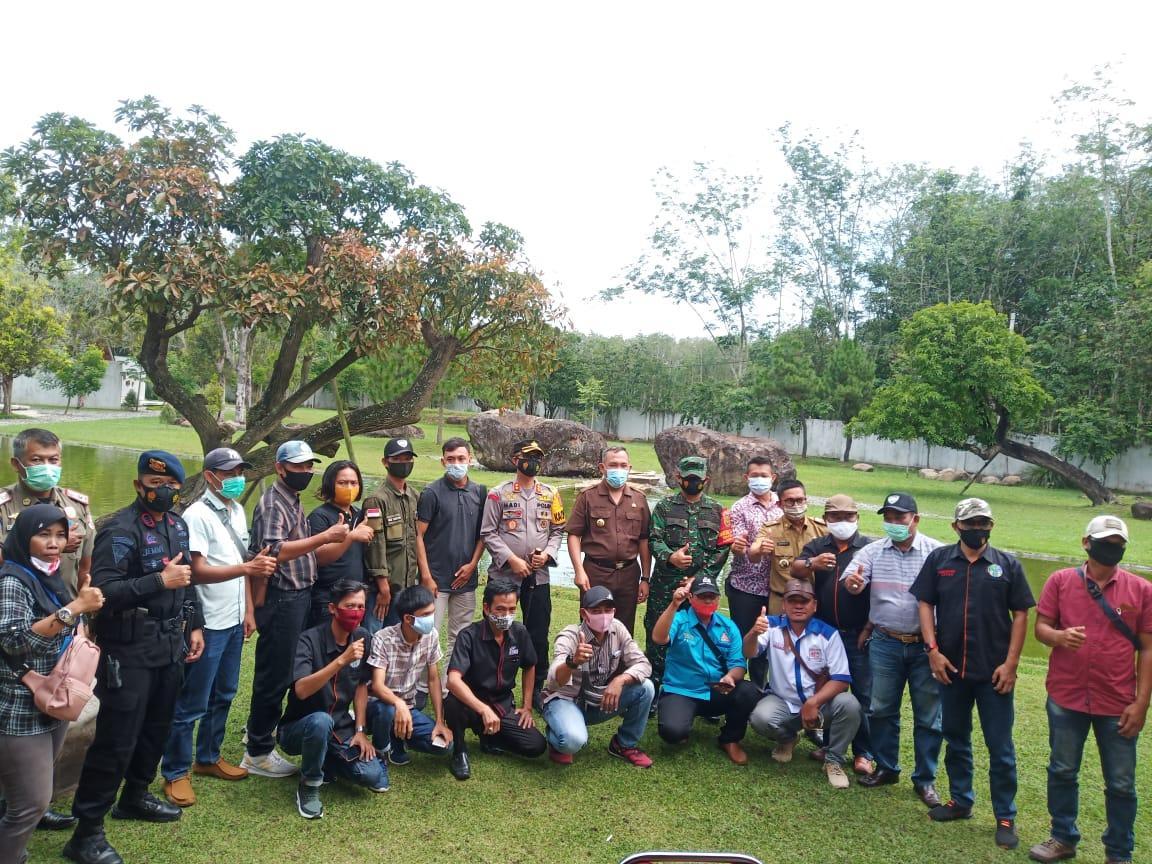 Jelang Pilkati Serentak, Bupati Tubaba Silaturahmi dengan Forkopimda, Organisasi Wartawan dan Pimpinan Media